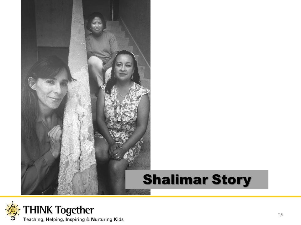25 Shalimar Story