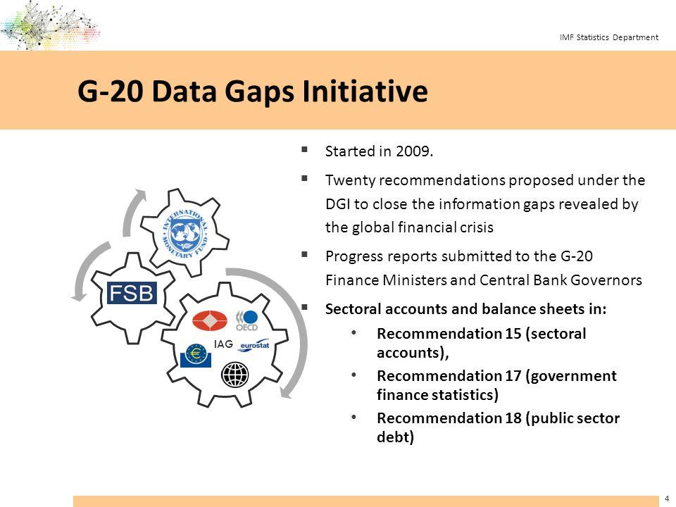IMF Statistics Department 25
