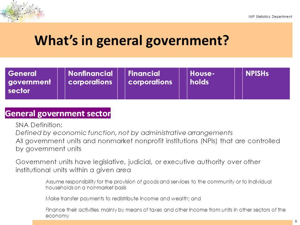 IMF Statistics Department E.