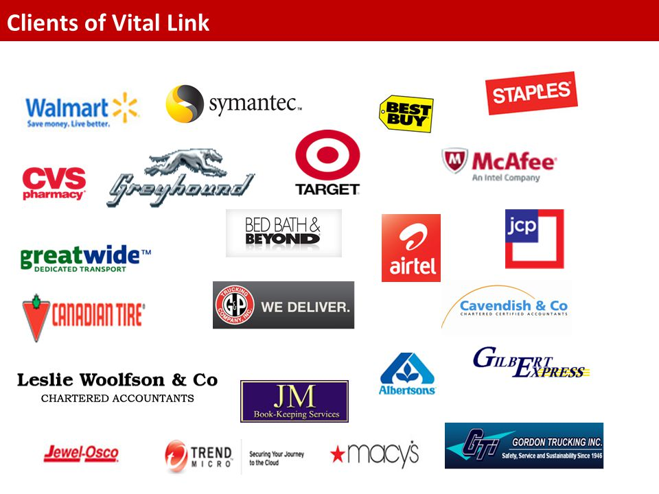 Clients of Vital Link