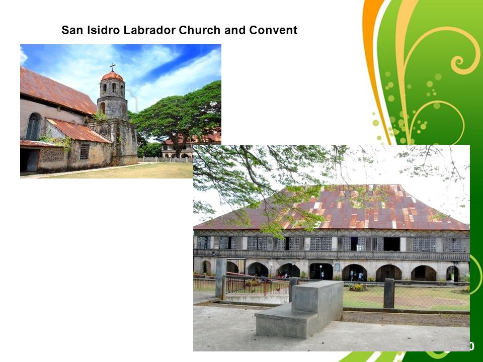 Free Powerpoint Templates Page 20 San Isidro Labrador Church and Convent