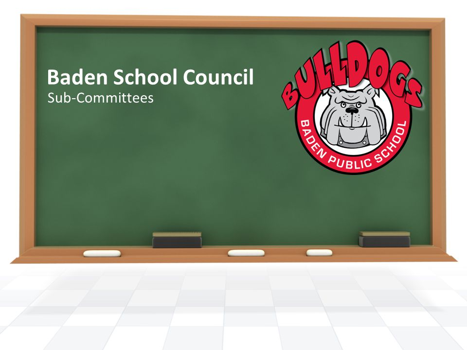 Baden School Council Sub-Committees