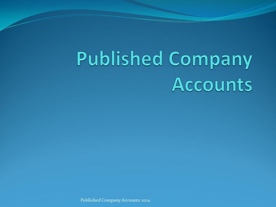 Published Company Accounts 2014