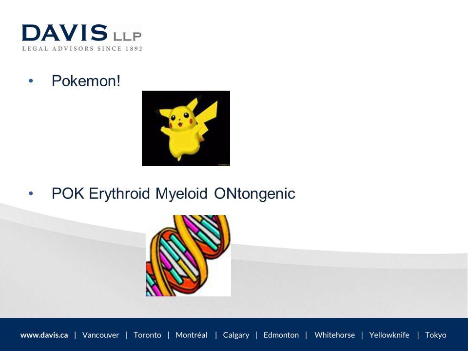 Pokemon! POK Erythroid Myeloid ONtongenic