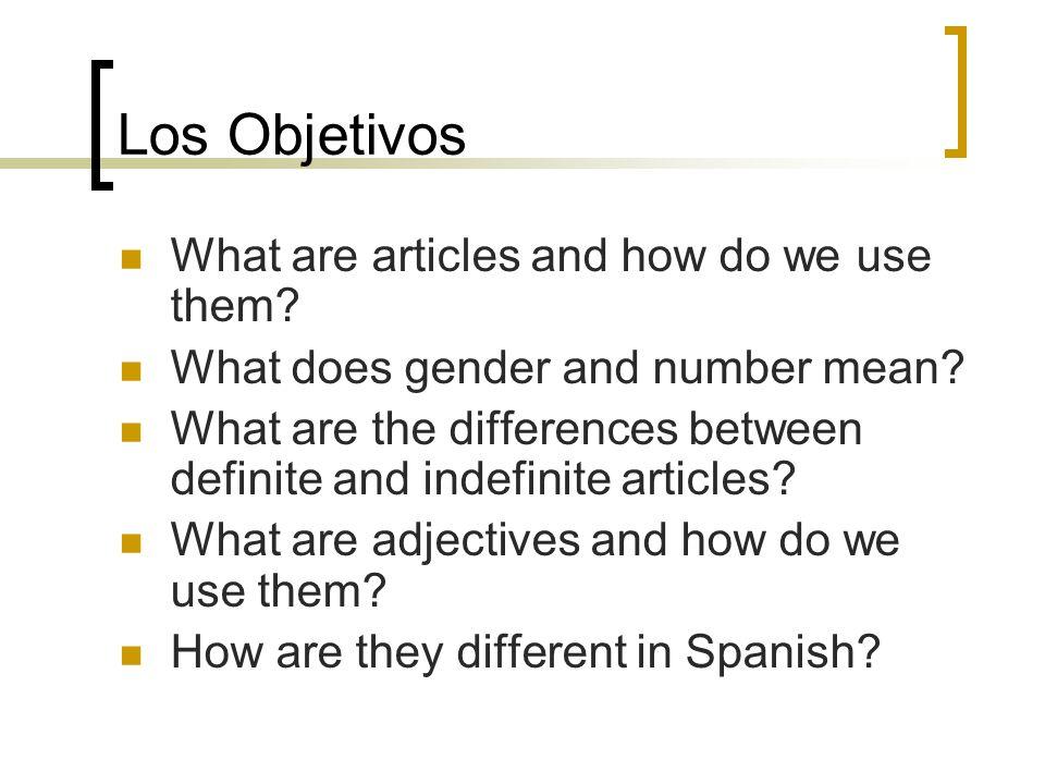 Definite Articles (cont.)