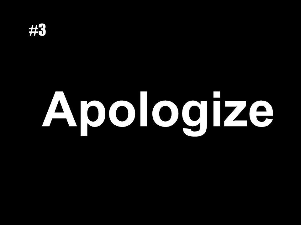 Apologize #3