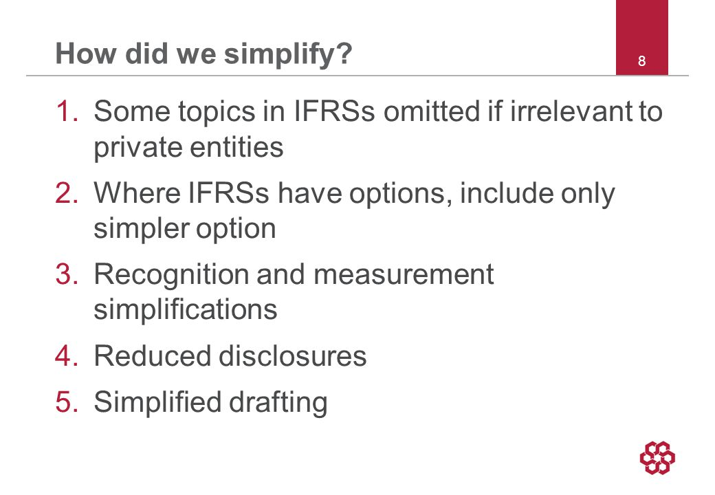 8 How did we simplify.