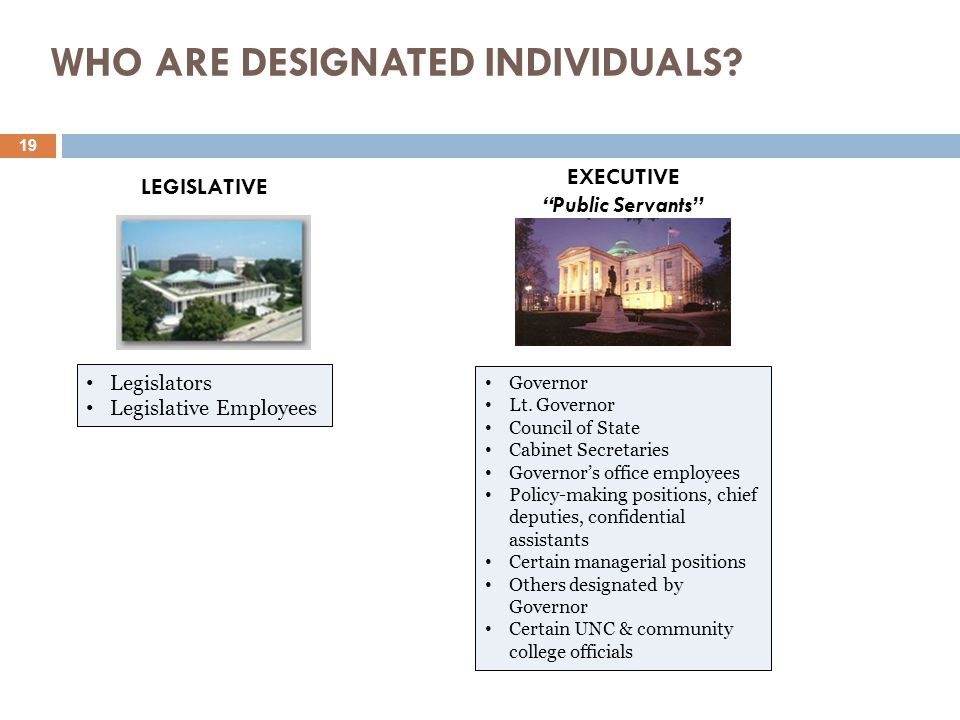 WHO ARE DESIGNATED INDIVIDUALS.