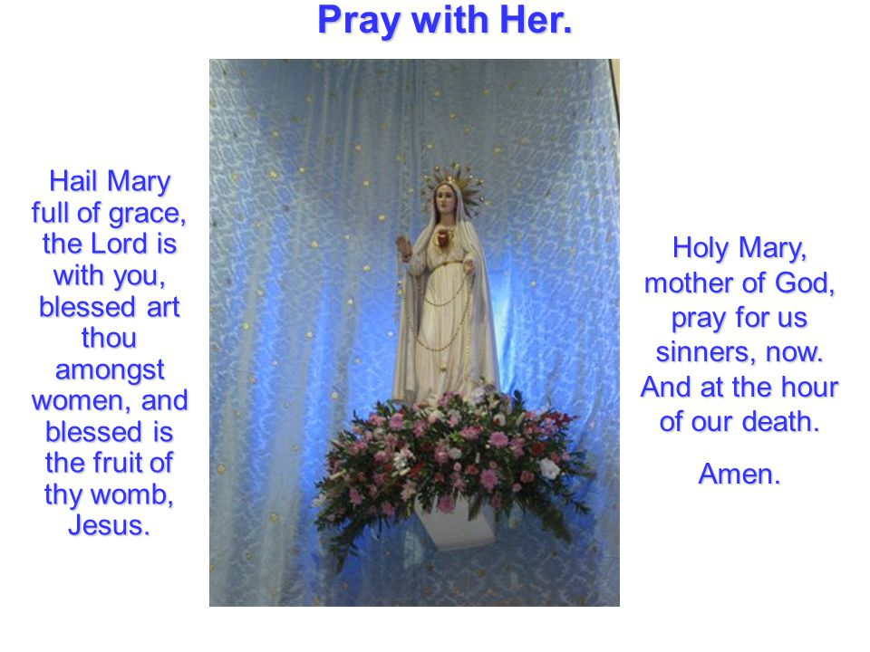 Pray with Her.