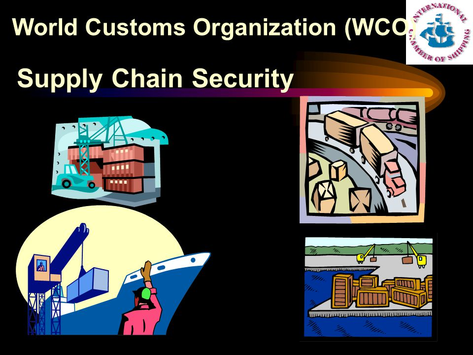 Supply Chain Security World Customs Organization (WCO)