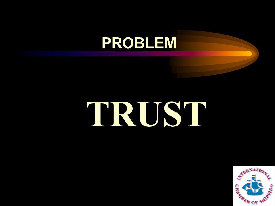 TRUST PROBLEM