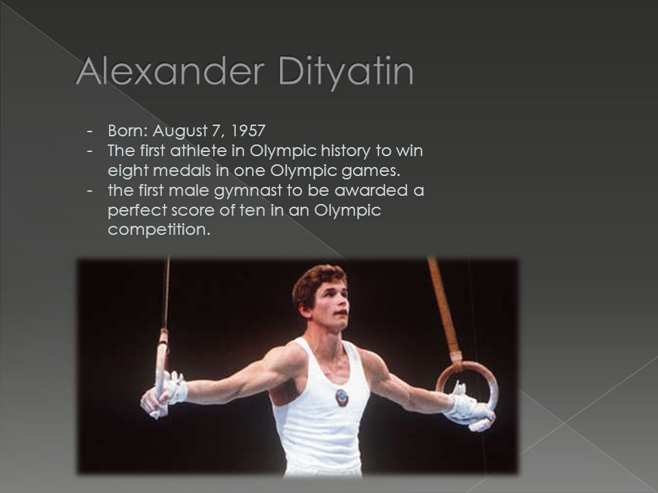 -Born: February 10, 1950 -Won 7 gold medals at 1972 summer Olympics.
