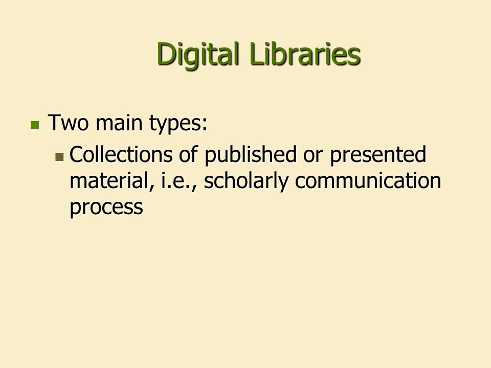 What is a digital library.