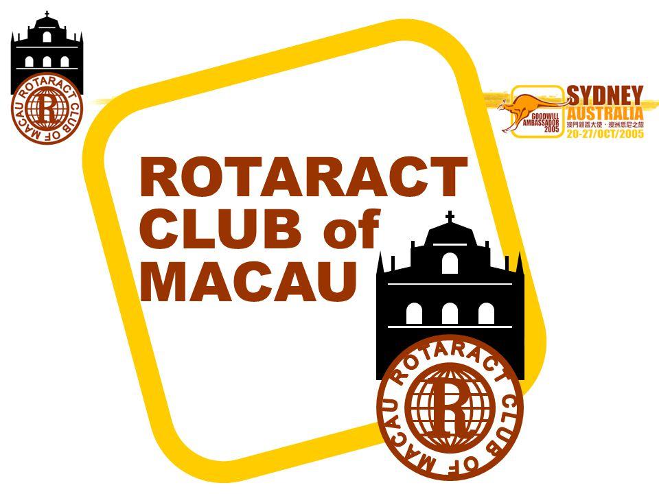 ROTARACT CLUB of MACAU