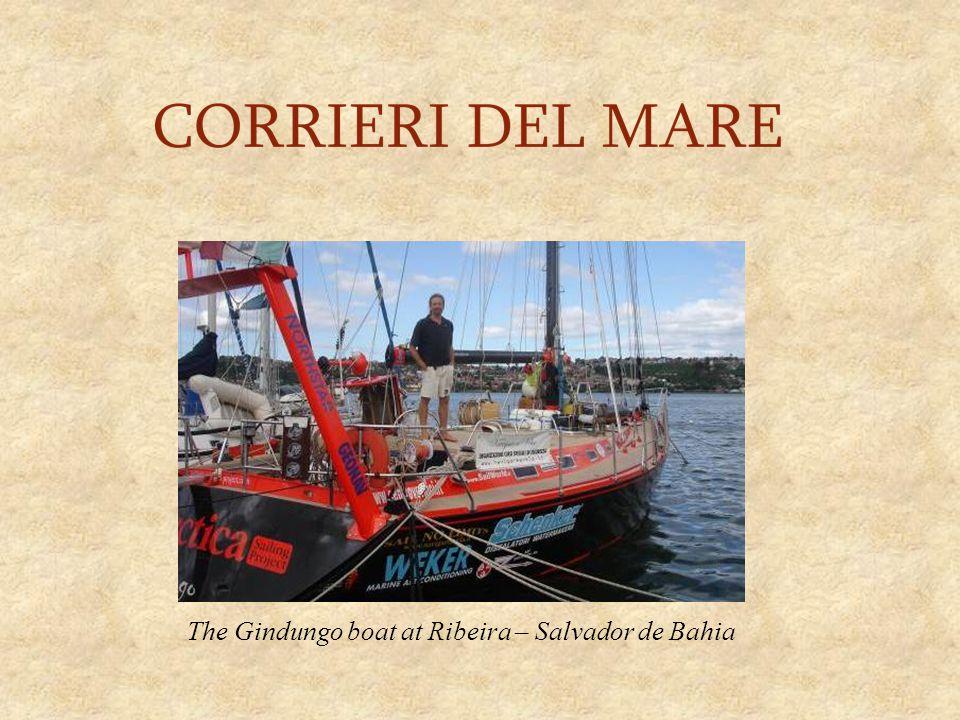 The Gindungo boat at Ribeira – Salvador de Bahia