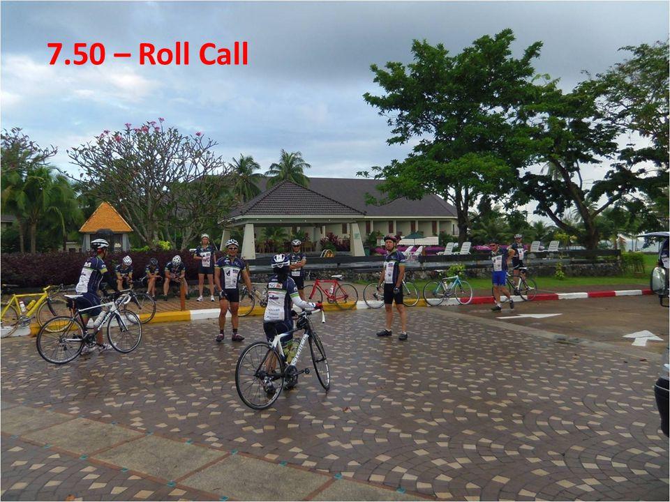 7.50 – Roll Call