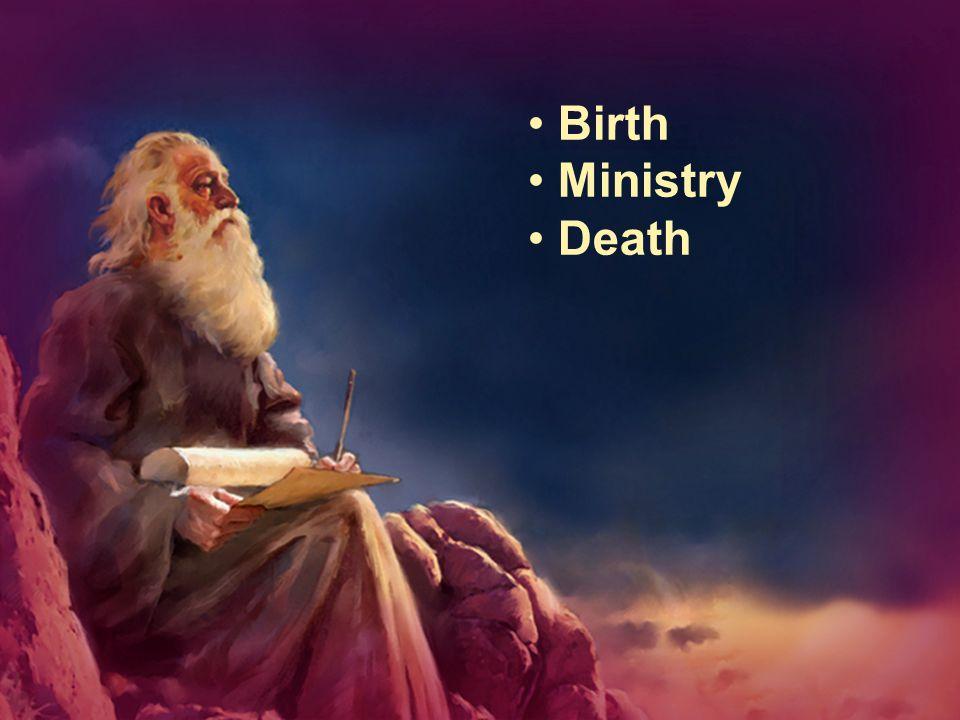 Birth Ministry Death