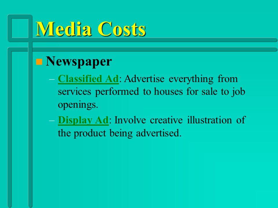 Advertising (Broadcast Media) n n Radio n Internet