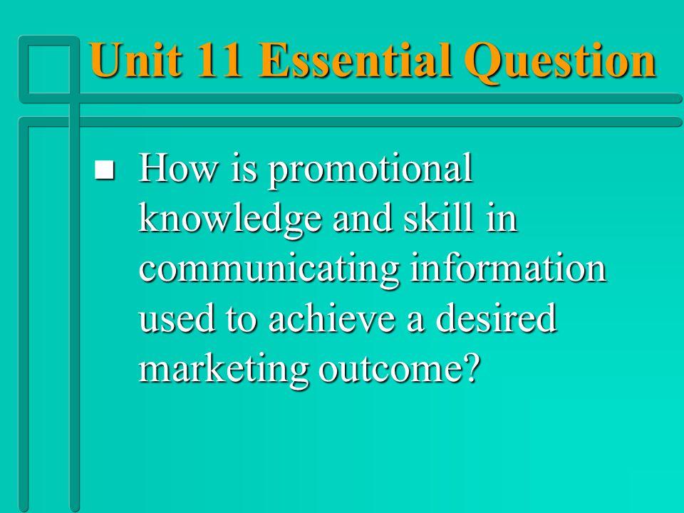 Unit 11 Vocabulary n n Promotional Mix n n Promotional Tie-ins n n Publicity n n Public Relations n n Pull Policy n n Push Policy n n Sales Promotion
