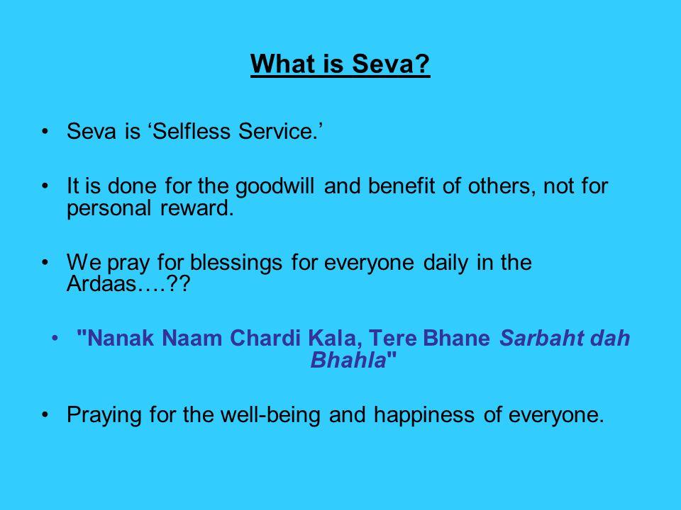 What is Seva.