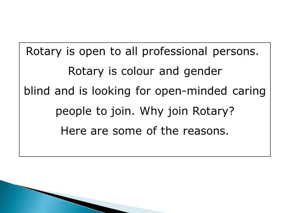 All you want to know about Rotary