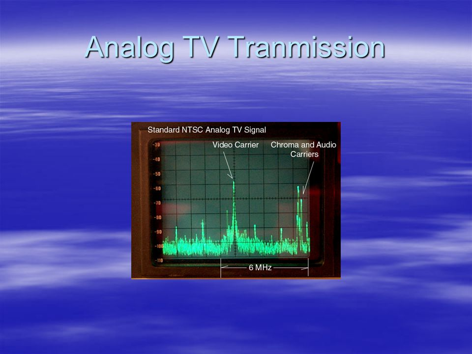 Analog TV Tranmission