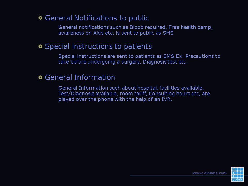 www.dialabs.com How it Helps Patients .