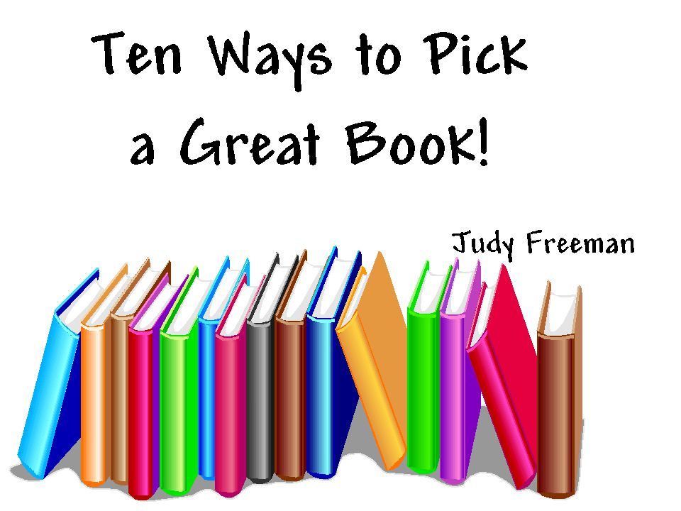 YES! This will give you a quick hint about the book…without having to read the whole thing!
