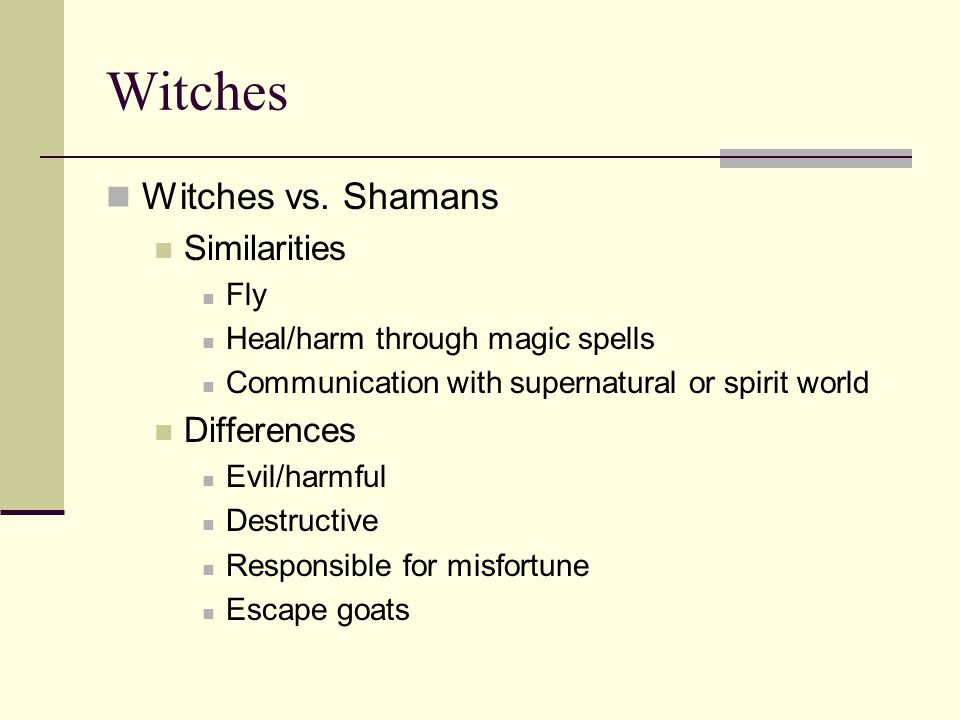 Historic Overview of Witchcraft Missionaries 9 th century Europe 13 th century Inquisition 1347 The Black Plague 15 th century witch hunts 1450 organized witch hunts 1486 Malleus Malefacaran standard Witchcraze 1550-1650 1690 Salem witchcraft 1700's Enlightment period Age of Reason