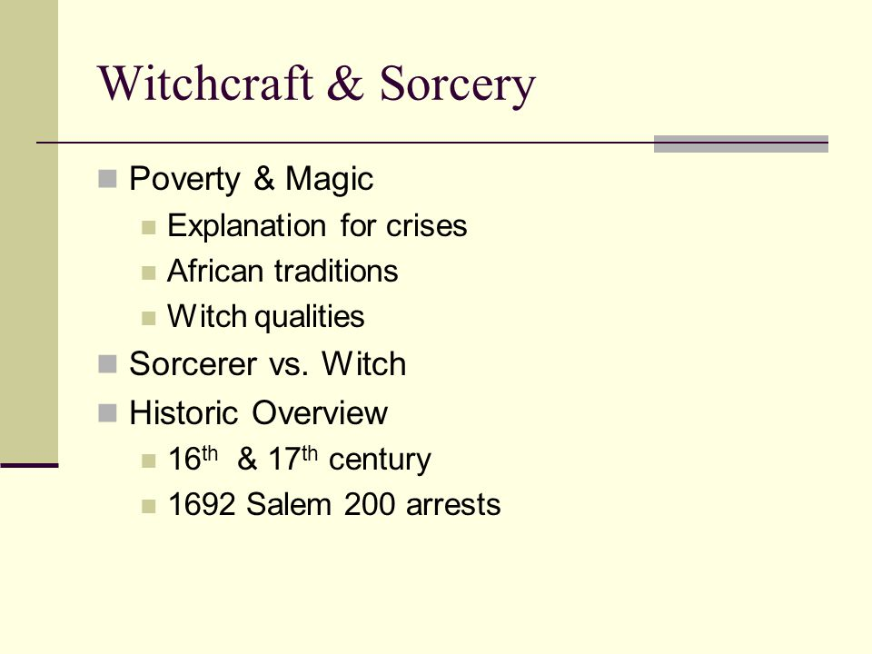 History of Wicca & Witchcraft Emergence of supernaturalism Cave paintings & Venus figurines Rise of rituals Pagan Shamanism & witchcraft The Druids- 350 B.C.E.