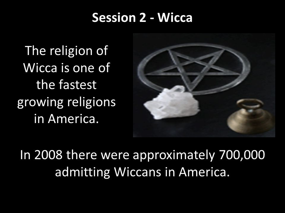 Most Wiccans acknowledge this type to be the beginning of the modern Wicca Movement.