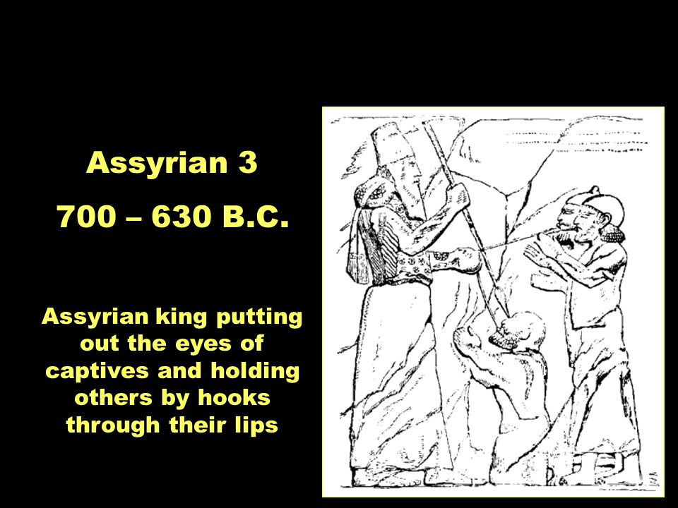 Moments in Time: Divided Monarchy Assyrian 3 700 – 630 B.C.