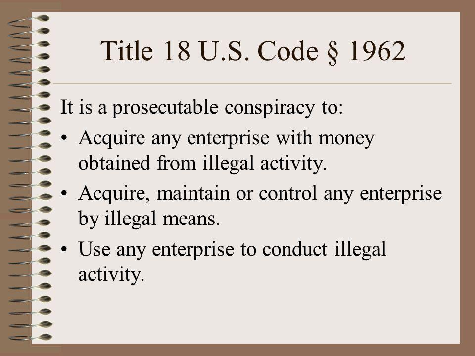 Title 18 U.S.