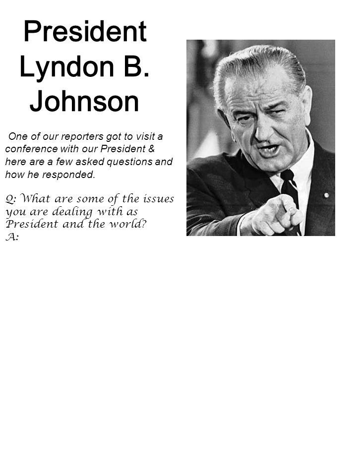 President Lyndon B.