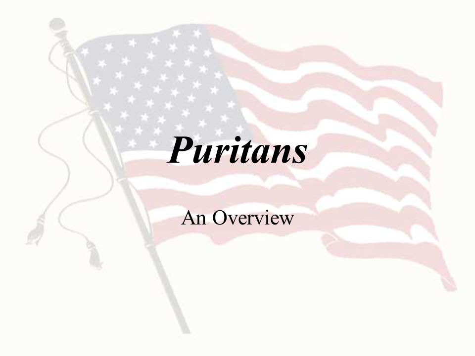 Puritans What were the two theories used to explain why the witch hunt occurred.