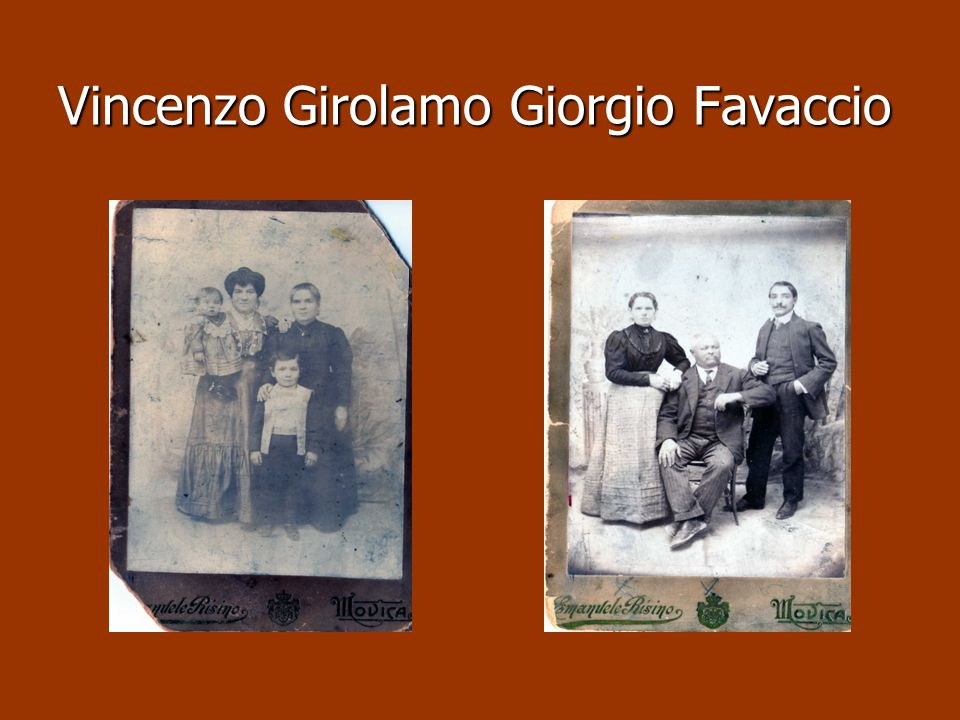 Vincenzo Girolamo Giorgio Favaccio