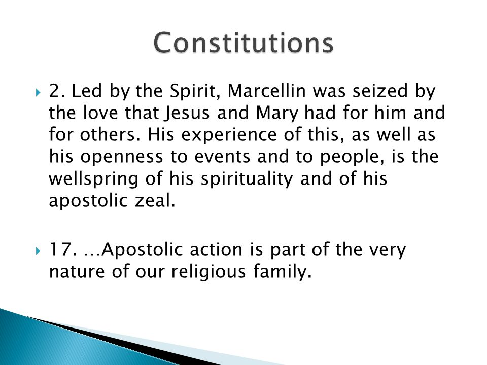  10.Religious consecration unites us in a special way to the Church and its mystery.