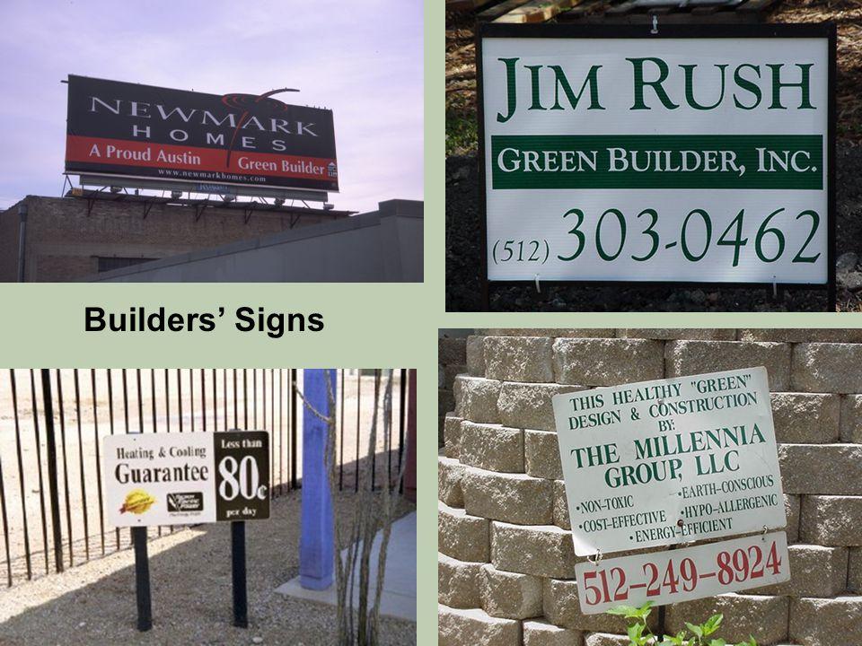 Builders' Signs