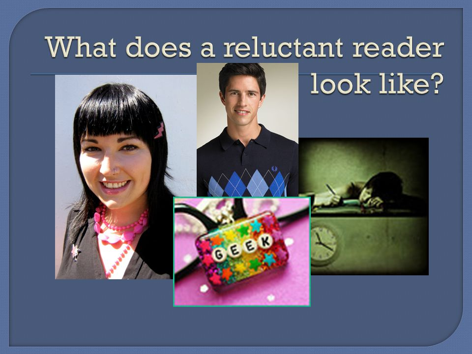 By: Joy Millam Heather Gruenthal Teacher Librarians & YALSA's Quick Picks for Reluctant Readers Committee