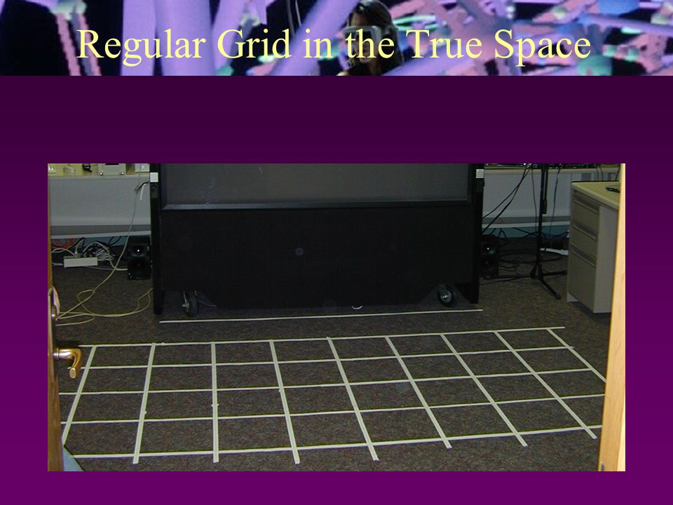 Regular Grid in the True Space
