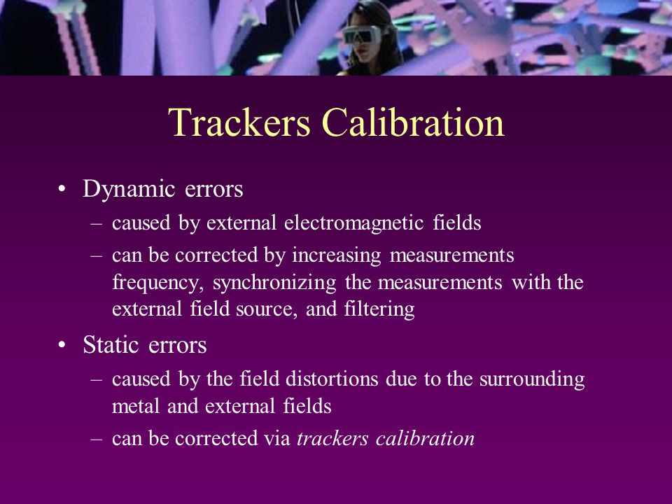 Calibration Table Z X true tracked