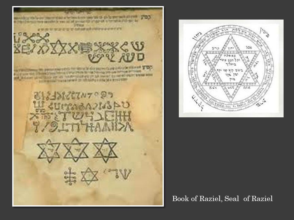Book of Raziel, Seal of Raziel