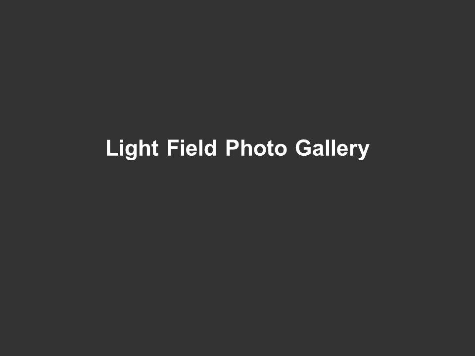 Light Field Photo Gallery