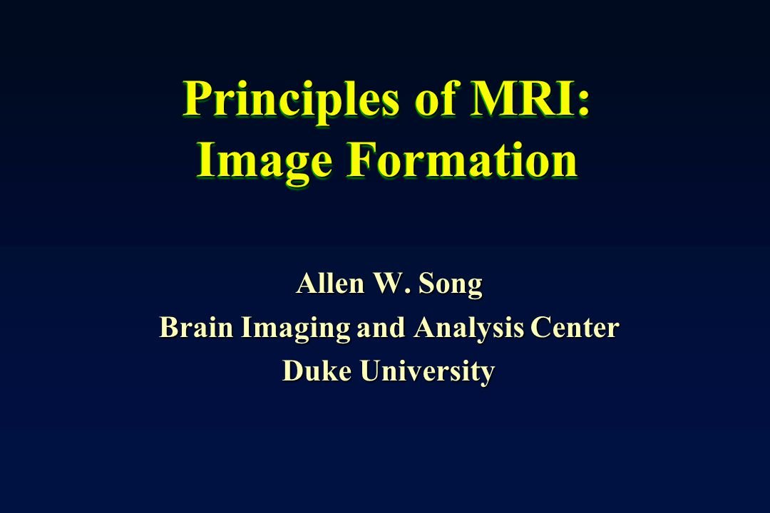 What is image formation.
