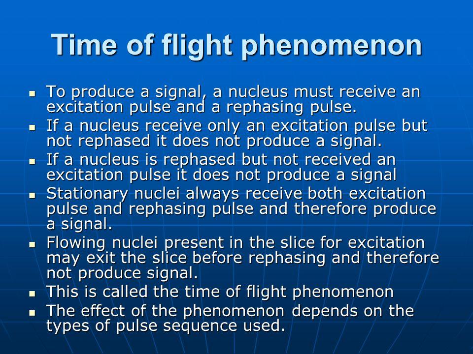 Gradient moment rephasing 0 +4000 Hz +8000 Hz +12000 Hz +4000 Hz - 16000 Hz +12000 Hz 0 0 0 +4000 Hz -12000 Hz 00 Frequency of a stationary nucleus along a normal gradient Frequency of a stationary nucleus along the compensatory gradient Frequency of a flowing nucleus Phase of a flowing nucleus