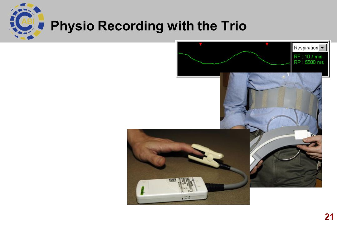 21 Physio Recording with the Trio