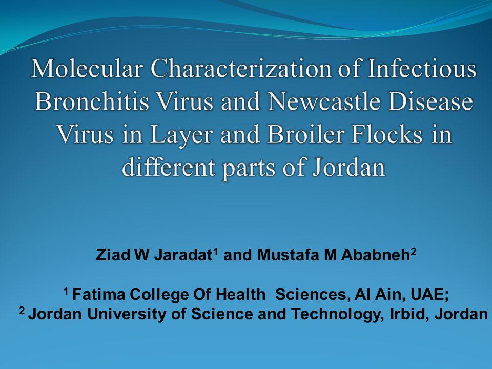 Ziad W Jaradat 1 and Mustafa M Ababneh 2 1 Fatima College Of Health Sciences, Al Ain, UAE; 2 Jordan University of Science and Technology, Irbid, Jorda