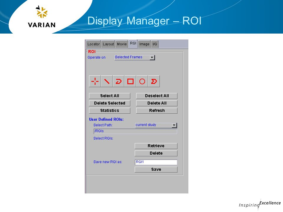 Display Manager – ROI