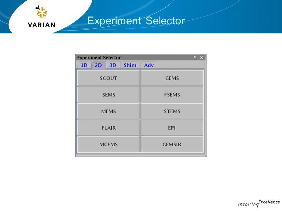 Experiment Selector