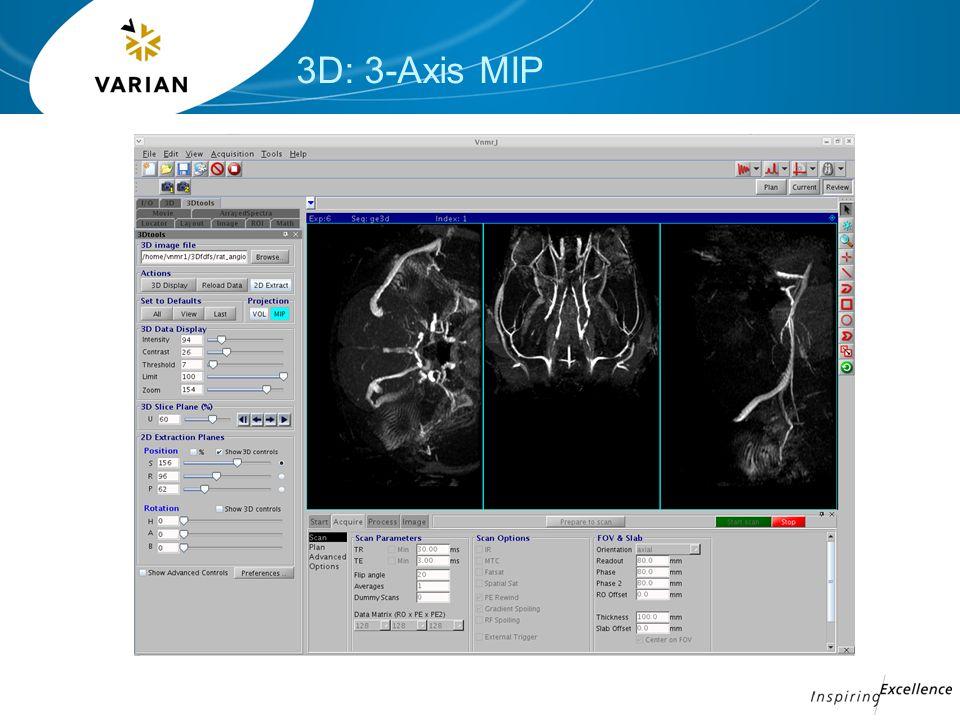3D: 3-Axis MIP